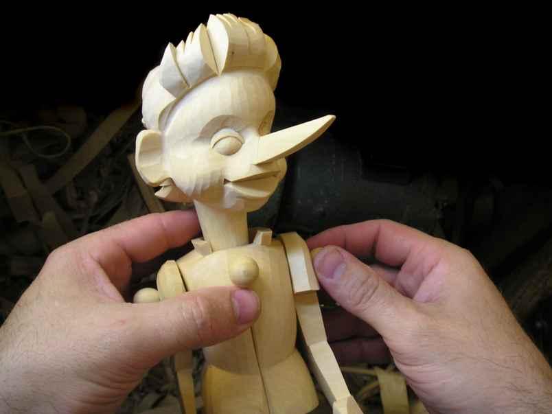 Кукла из дерева мастер класс фото